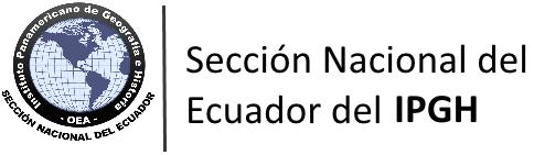 inicio secci243n nacional del ecuador del ipgh