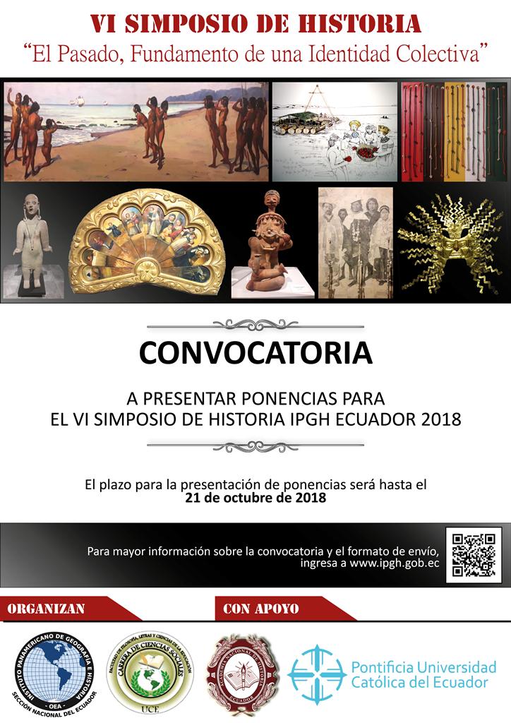 VI SIMPOSIO DE HISTORIA CONVOCATORIA