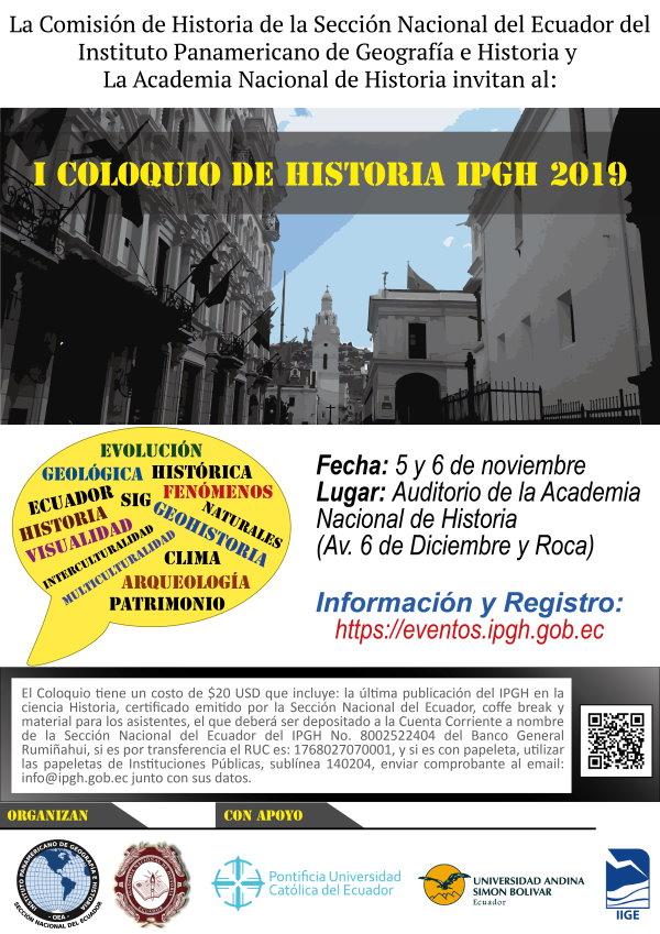 I COLOQUIO DE HISTORIA web