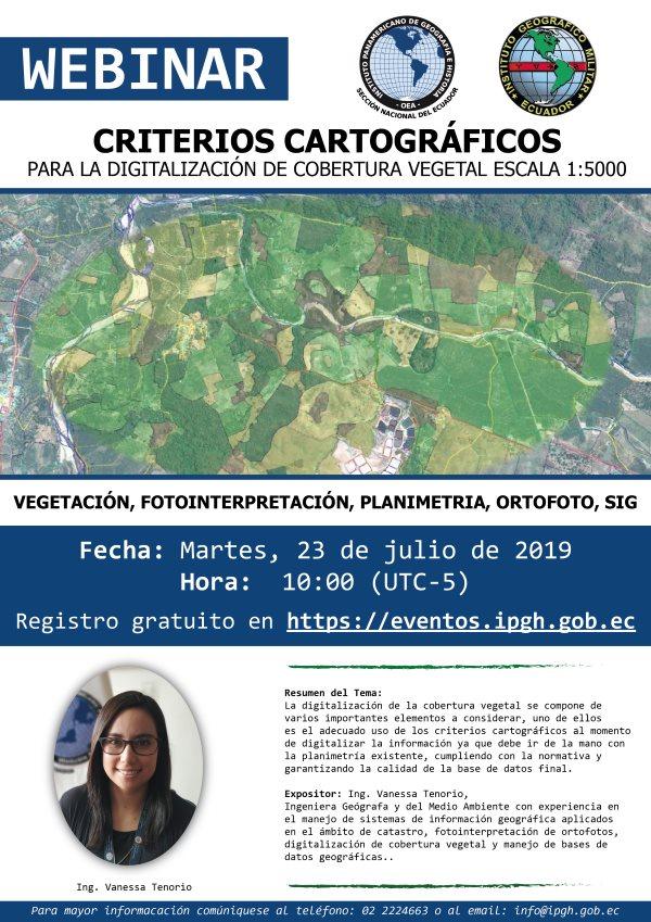 webinar criterios cartograficos web