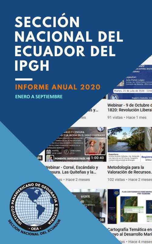 Portada Informe Anual Ecuador 2020