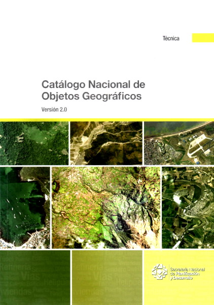 catalogo nacional de objetos geograficos