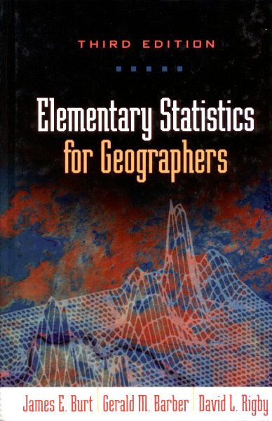 elementary statics for geographers