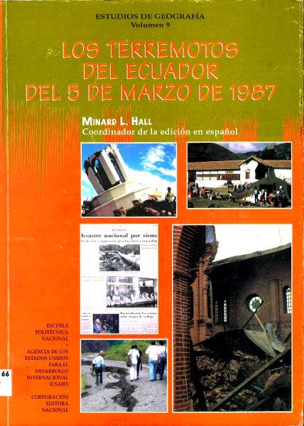 los terremotos del ecuador del 5 de marzo de 1987