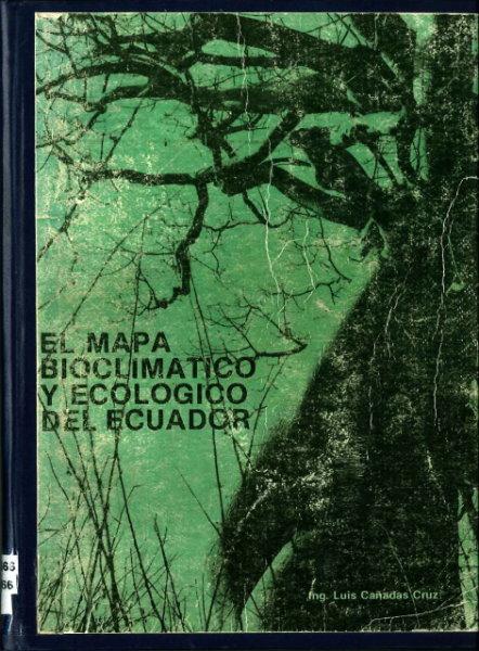 mapa bioclimatico ecologico ecuador