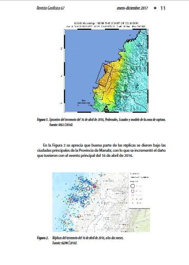 peligrosidad sismica terremoto pedernales