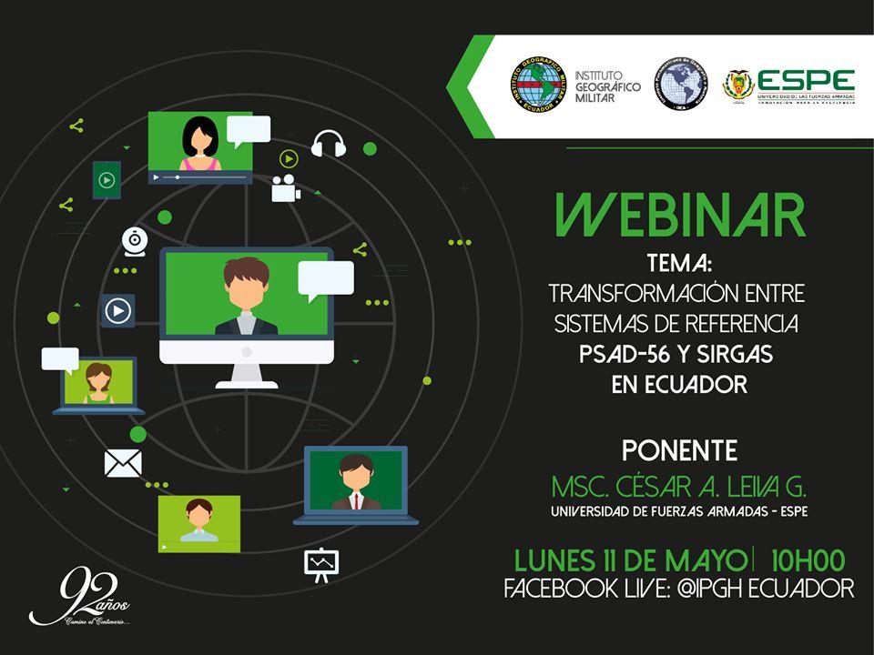 promocional webinar igm espe ipghec