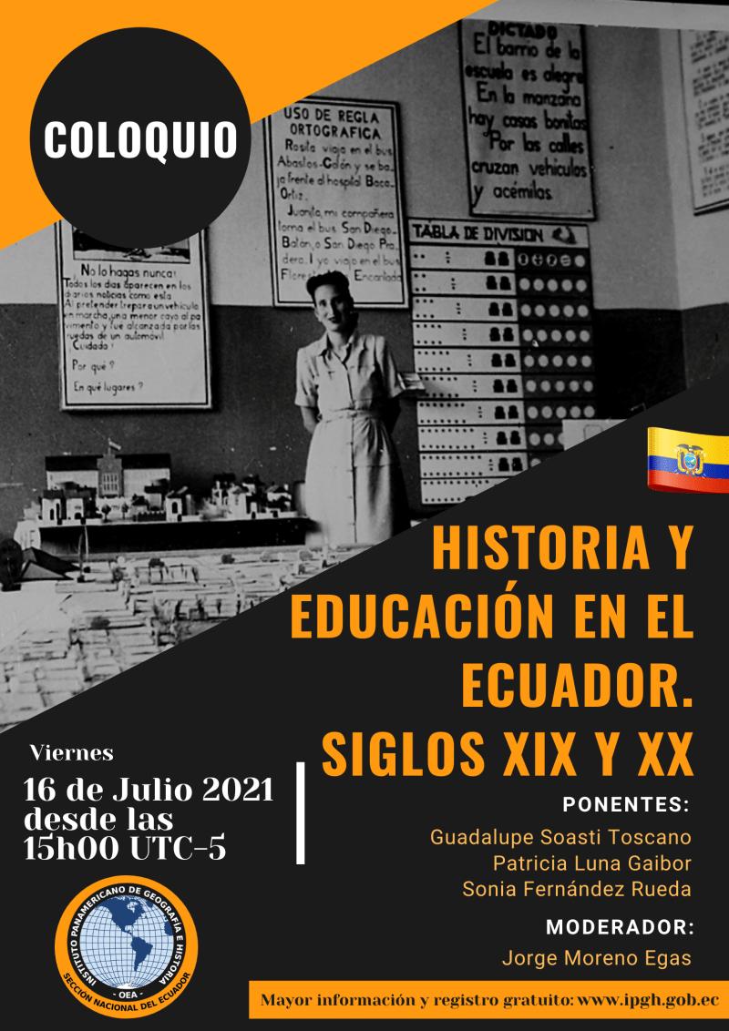 Coloquio Historia y Educación web
