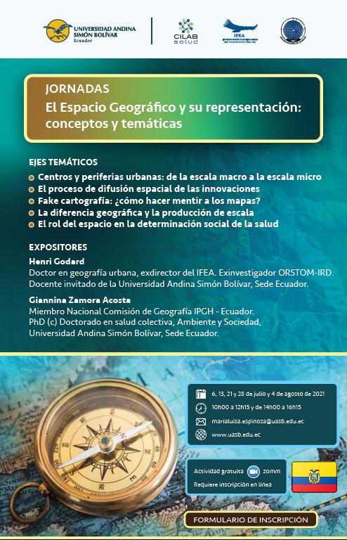 Publicacion el espacio geografico y su representacion