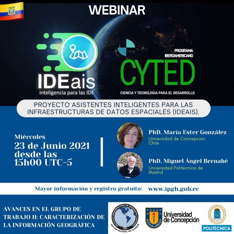 Webinar Proyecto IDEAIS