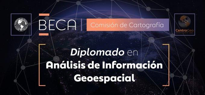 beca diplomado en analisis de informacion geoespacial
