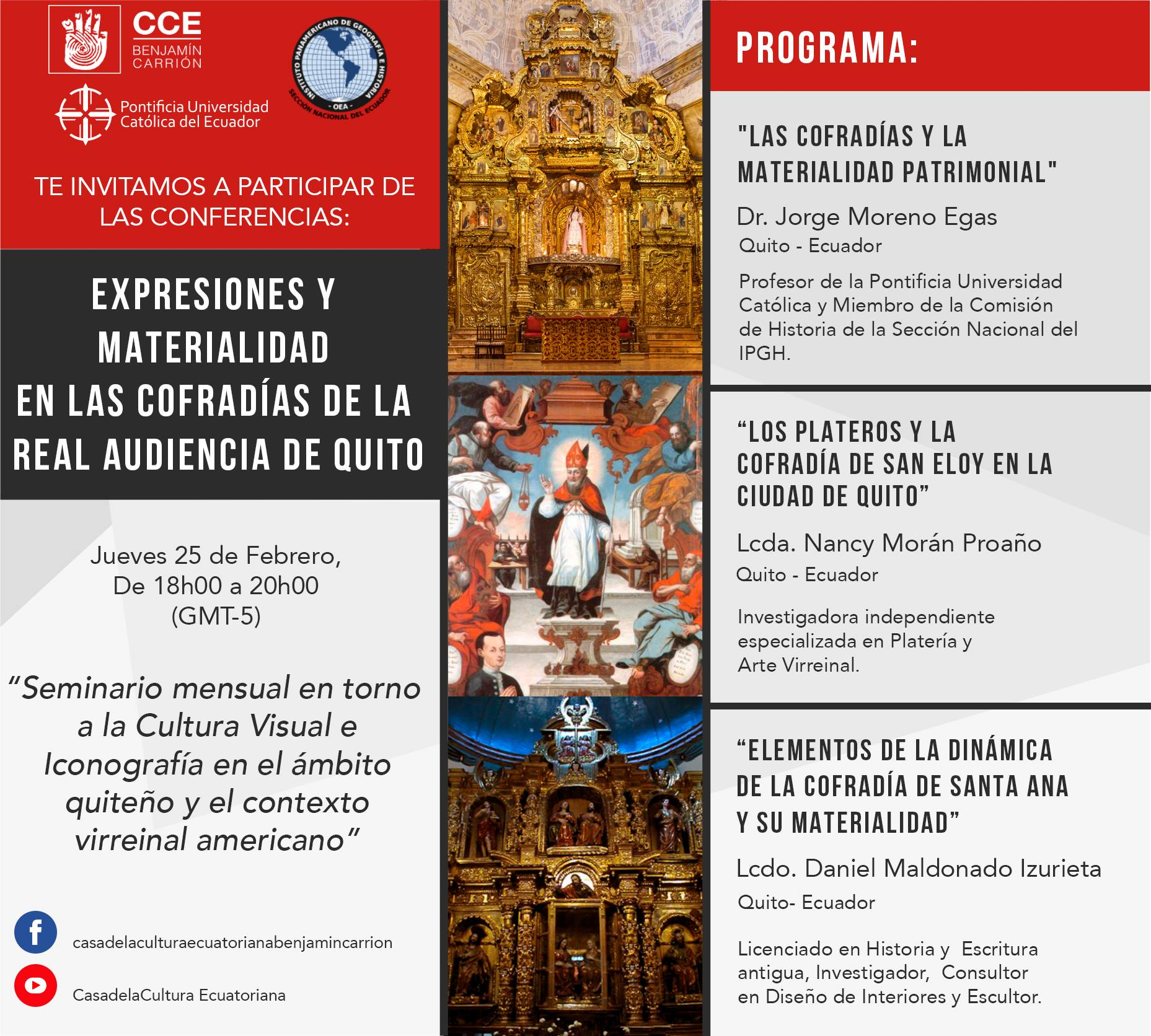 conferencias expresiones y materialidad